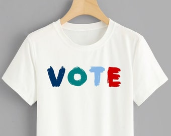 848eb4c4 Vote 2020 Elections Political Shirt • Voter Registration Election Day Voting  Shirt