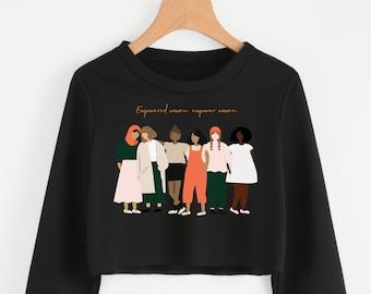 Say It Till You See It Unisex California Fleece Raglan Sweatshirt-Umbrella