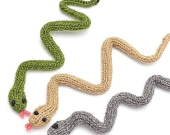 SNAKE - Knitted, Customizable, Cat Nip optional, High Quality, Durable, Handmade, Cat Toy, Pet Toys, Gift