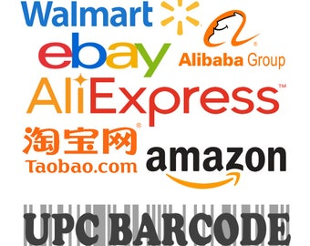 8b88babbd4e 1000 UPC EAN Codes Certified by GS1 For Selling Online Ebay Etsy Amazone  Shopify