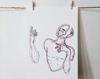 original art prints   illustrative art prints   unique prints