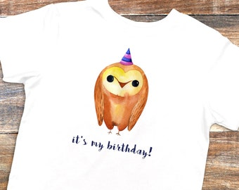 owl birthday shirt kids birthday shirt owl birthday owl shirt animal birthday - Owl Pictures For Kids
