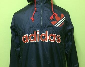 Vintage Adidas Windbreaker Spell Out/Big Logo