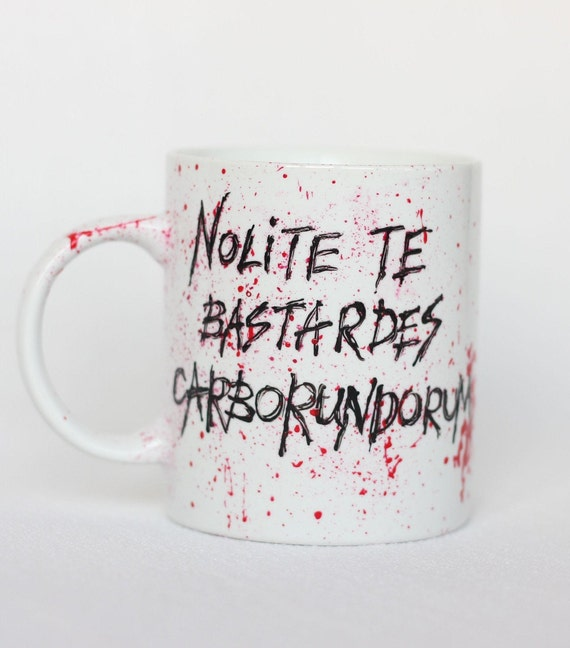 Feminist Handmaid/'s Tale Nolite te bastardes carborundorum Resin Pendant
