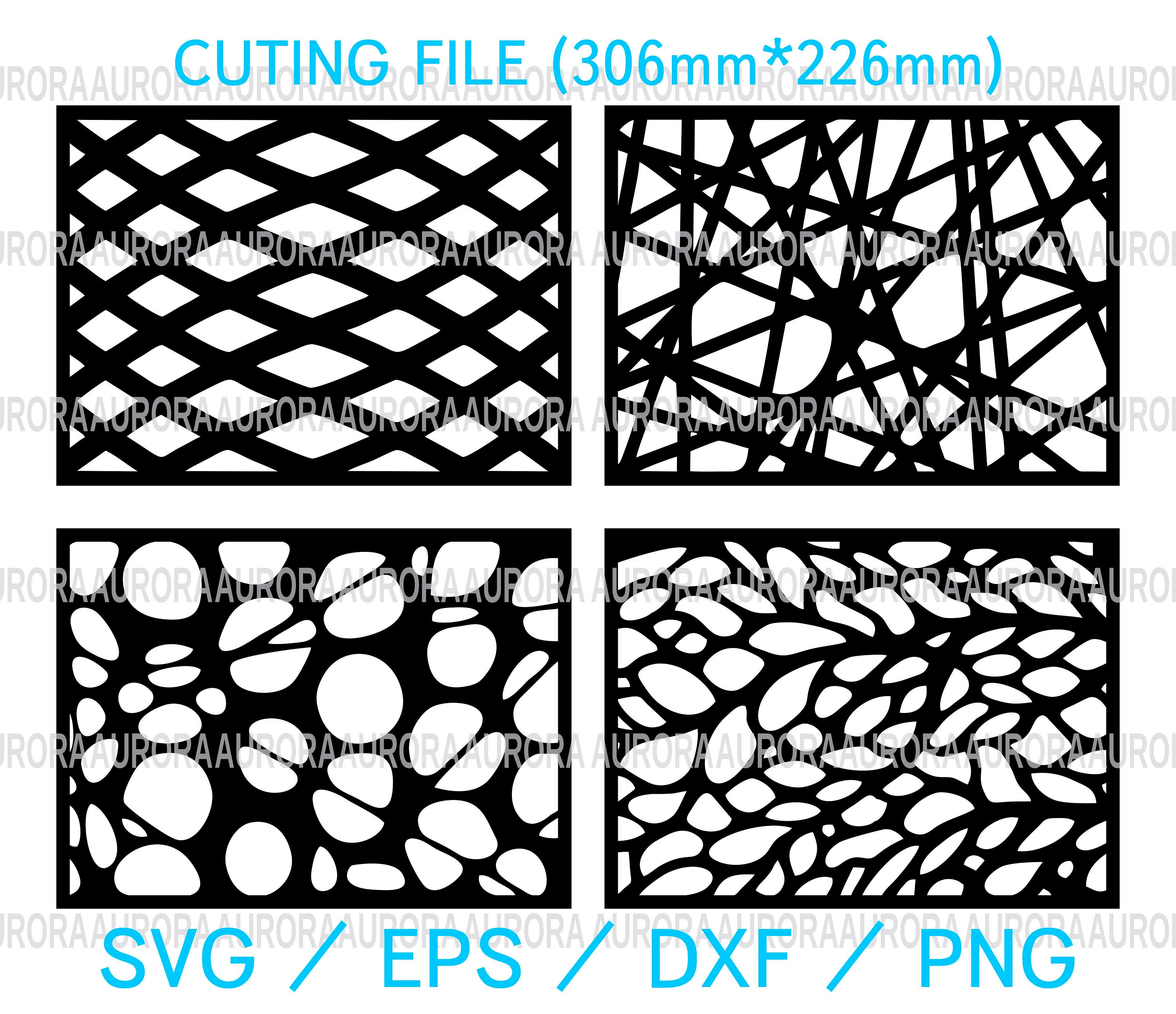 SET Laser cut vector Templates for decorative cutting | Etsy