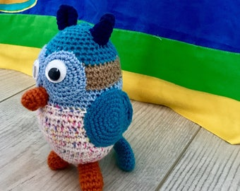 Crochet Animal, Owl
