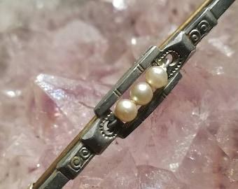 Vintage, brooch, brooch, pearls, pearls