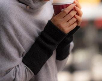 Cashmere wristwarmer / cashmere sleeves