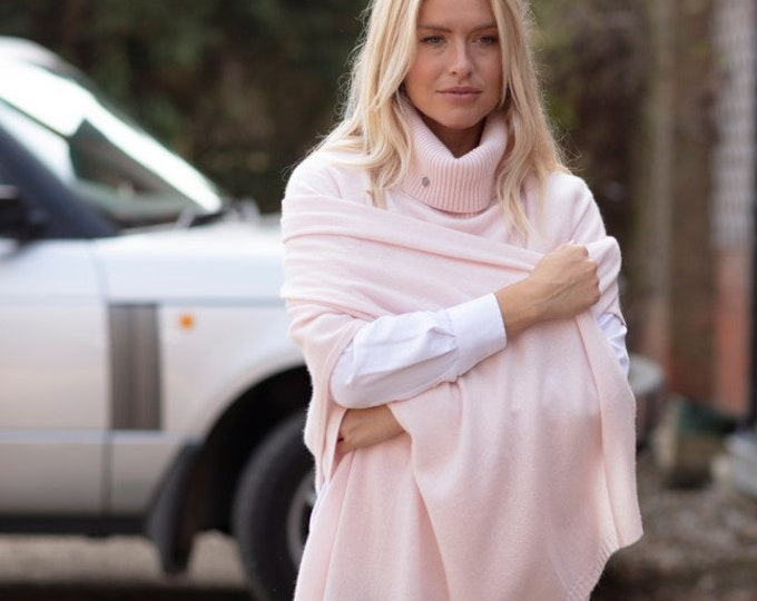 Featured listing image: Cashmere wrap / oversized scarf