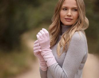 Cashmere gloves, long pure cashmere gloves, cashmere wristwarmer