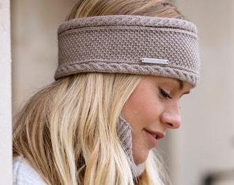 Ladies cashmere ear warmer / headband