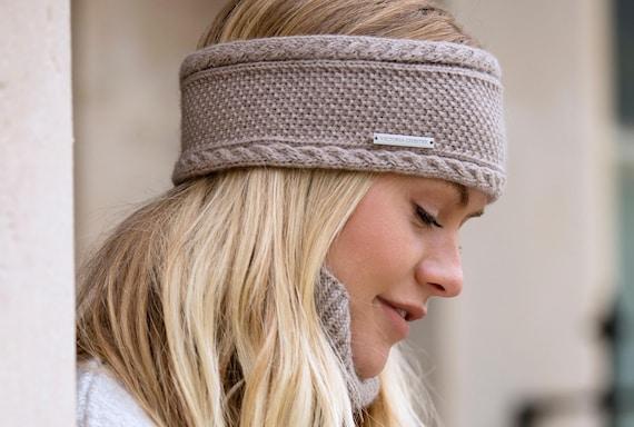 Ladies cashmere ear warmer   headband  9f8c8860c92
