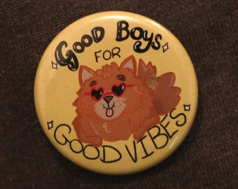 Good boys for Good Vibes Badge