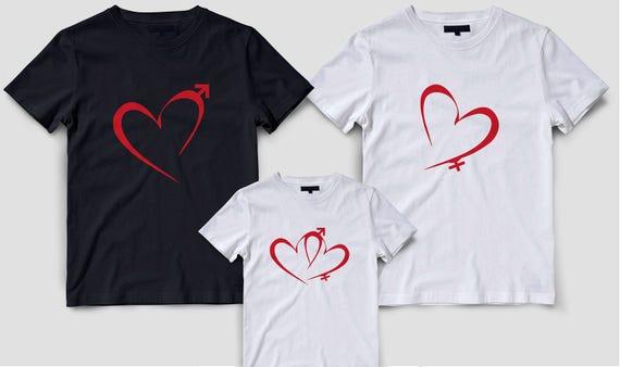 Valentines Day Family Shirts Valentines Day Matching Shirts Etsy