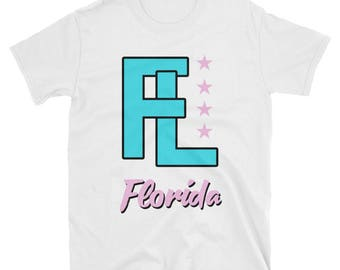 9f891bd72c6d9b Florida Neon Logo T-Shirt