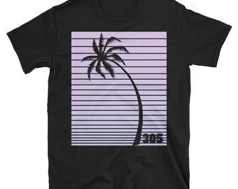 434e75d05d8d31 Florida Purple Palm T-Shirt
