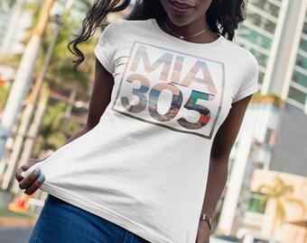 b255fce1411 Miami 305 Beach T-Shirt