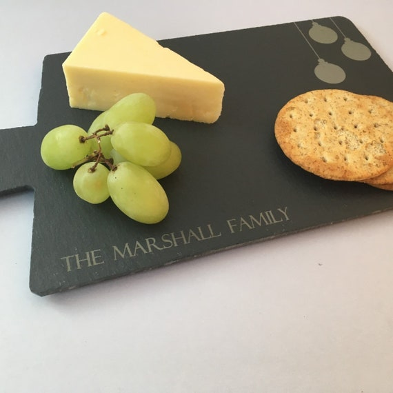 Christmas Cheese Board Ideas.Personalised Slate Christmas Cheese Board Christmas Present Ideas Xmas Gift Idea Christmas Family Dinner Table Christmas Table Mat