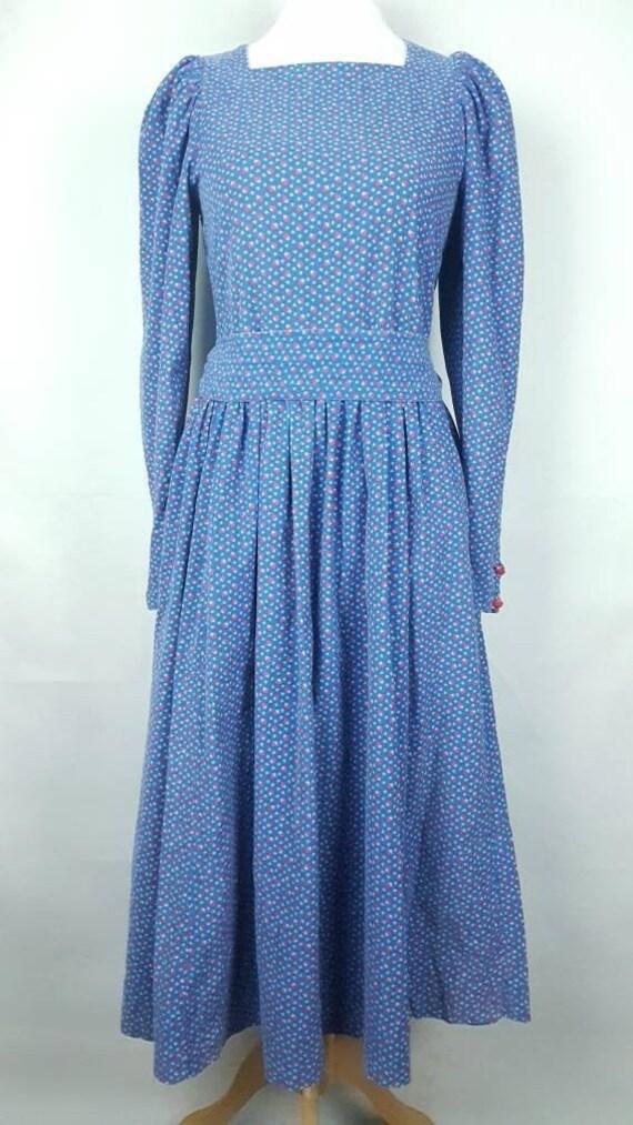 Laura Ashley Vintage Needlecord Dress Size UK 10 1