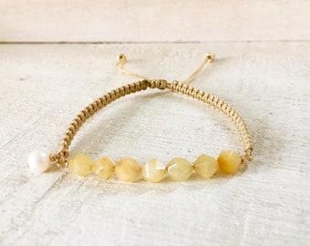 Gemstone Bar Bracelet Blue Quartz Bracelet Girlfriend Gift Ideas For Women Gold Chain Bracelet Gemstone Jewelry Tiny Bracelet Quartz Jewelry