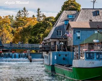 Iconic Fishtown Print aka Leland, Michigan / Fishing Vessel Joy / Michigan Photography