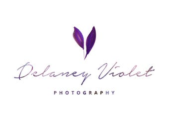 Delaney Violet Galaxy Photography Business Logo