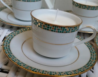 Coffee/Tea Cup Candle