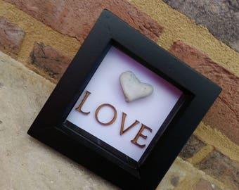 Small Pebble Heart - Love