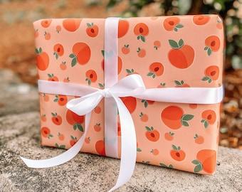 Georgia Peach Flat Wrap- Peach