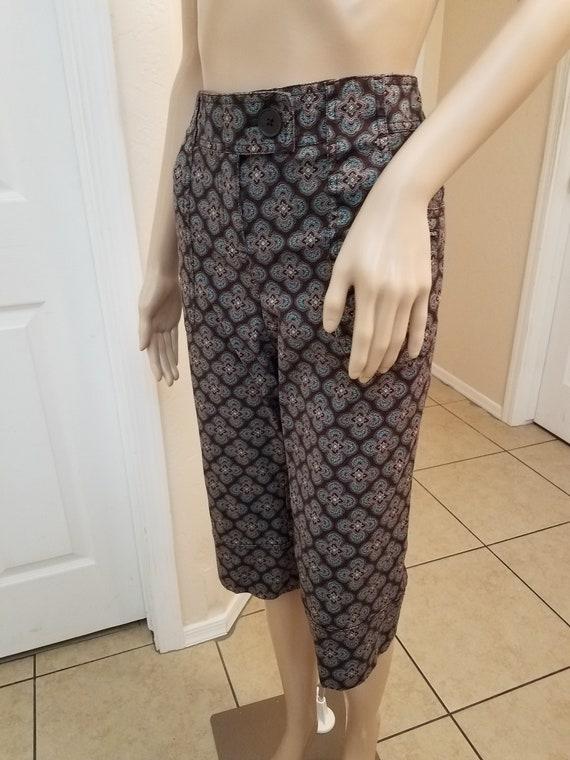 1960's Inspired, MOD Style, Ladies' Capri Pants, C