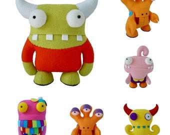 Fugglers, Monster Dolls, Plush dolls,Alien,Doll,Super Hero,Toys,Kid's toy, Present for kids, Gift Ideas, Gift for him,Gift for her, Children