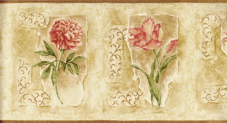 Contemporary Art Design Paint Brushstroke Embossed Textured Wallpaper Border