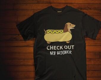 dd92cd3cd1 Funny Dachshund Shirt | Gift for Dachshund Parents| I Love My Wiener Dog |  Funny Weiner TShirt | Cute Dog Tee | Dachshund Owner Shirt