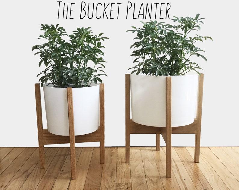 Indoor Planter Modern Planter Plant Stand Flower Stand Etsy