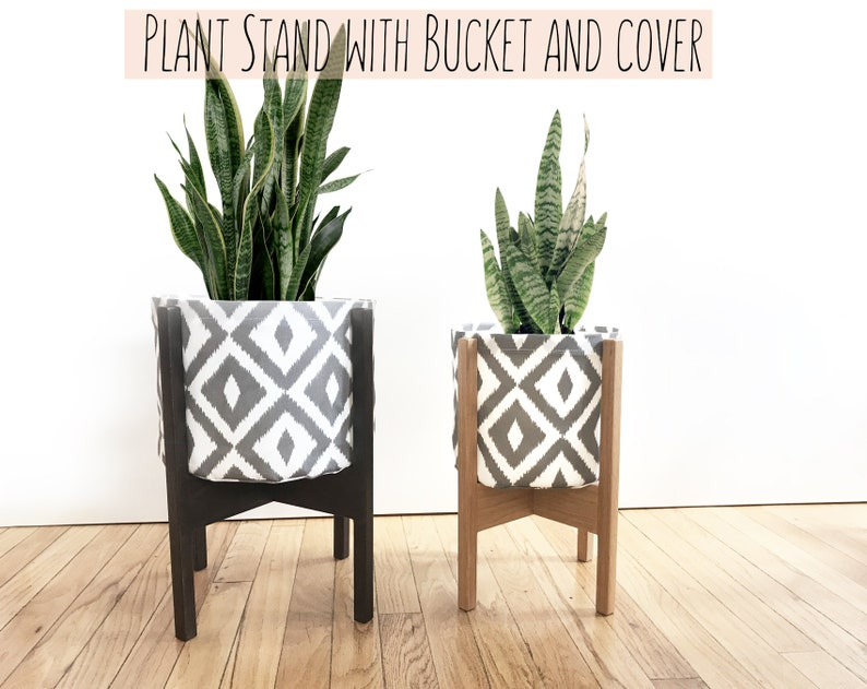 Planter Indoor Plant Pot Plant Stand Flower Pot Indoor Etsy