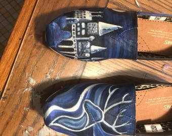 Harry Potter Painted Toms