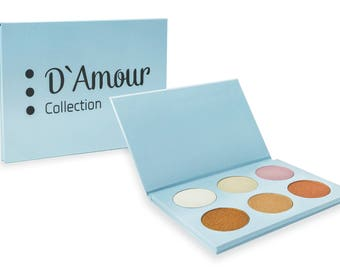 D'Amour Collection Highlight Palette