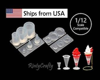 Ribbon NISSHIN Associates Handcraft Silicone Mold Cray jewely  324