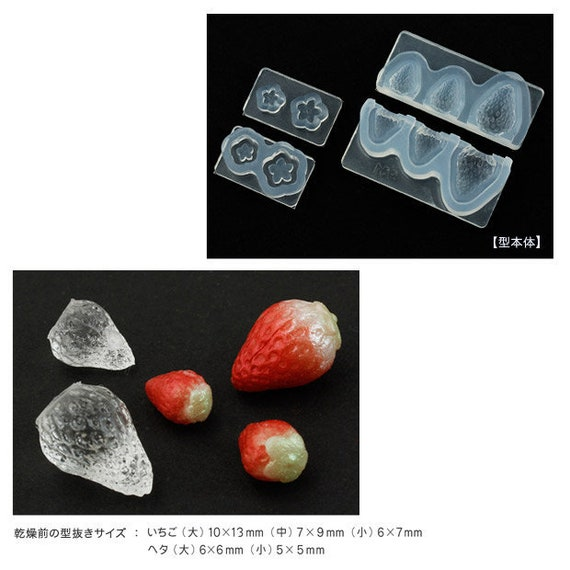 Miniature Berries Mold Use with UV Resin Berry Mold for Dollhouse Miniature Epoxy Floree Fruits Mold Polymer Clay Silicone Mold