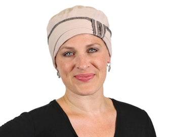1cce22e53b10b Cape Cod COTTON Cloche Hat for Women With Small Heads Mocha