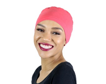 76078832412 Serena Cotton Sleep Cap for Chemo Headwear Jade
