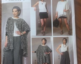 Pattern Sizes Xsm-Sml Vogue Wardrobe Pattern Collection  VP951 Sewing Pattern Easy Sewing Pattern Med