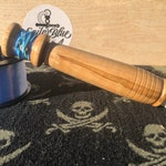 Hobo Fishing Reel with Tackle - Spalted Maple Wood