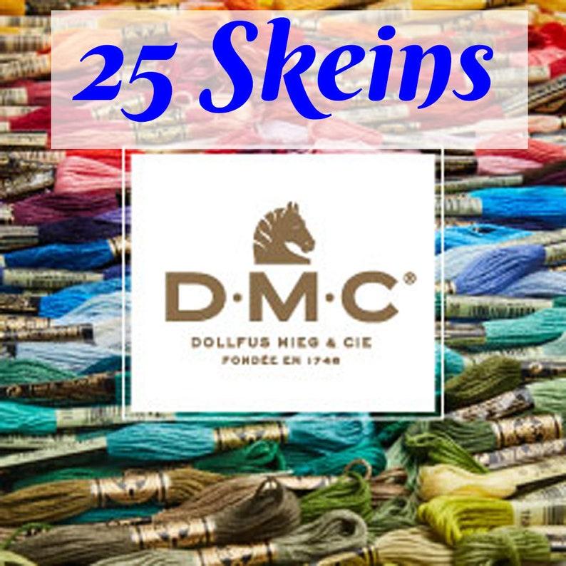 DMC Stranded Nombre Shade cotton 844