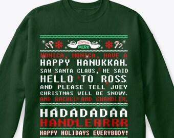 Anti Kersttrui.Unisex Ugly Sweater Etsy
