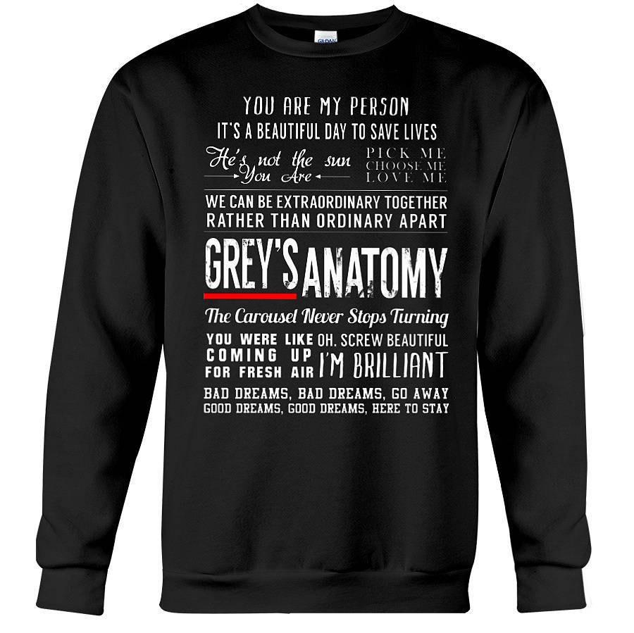 Grises anatomía citas camiseta gris anatomía regalos | Etsy