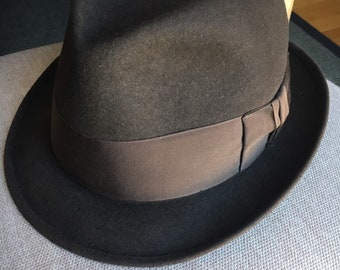 c07c898d27bb48 Vintage Royal Stetson Mens Fedora Hat 7 1/2
