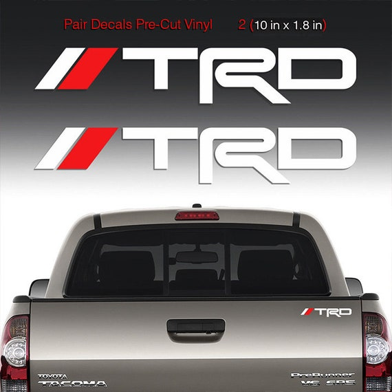 Windshield Banner Vinyl Decal Sticker for Tacoma Tundra TRD Toyota Trucks Pro