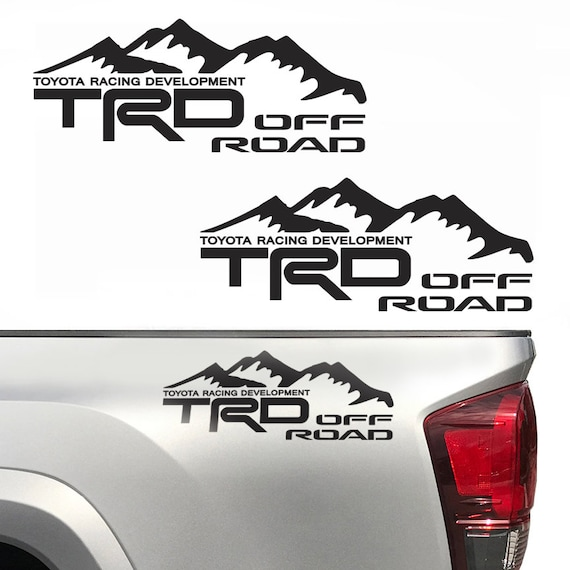 SR5 4X4 Off Road Mountain Toyota Tundra Tacoma Truck Decals Stickers Vinyl 4X4 A