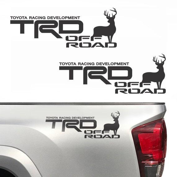 2X TRD OFF ROAD 4X4 TOYOTA RACING DEVELOPMENT TACOMA TUNDRA TRUCK DECAL STICKER
